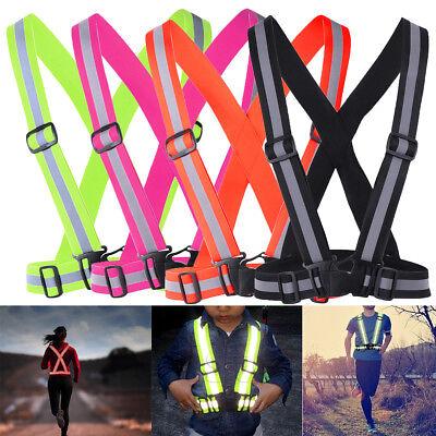 Safety Reflective Night Belt Strap Strap Reflective Sports LED Pendant Light