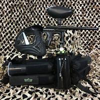 NEW Kingman Spyder Fenix LEGENDARY Paintball Gun Package Kit - Diamond Black
