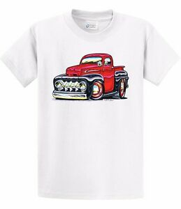 kurbside kustoms black red ford truck hot rod t shirt. Black Bedroom Furniture Sets. Home Design Ideas