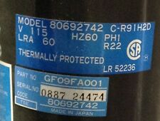Discount Hvac Cp P0361201 Carrier Compressor Gf09fa001 115v R22 Free Freight