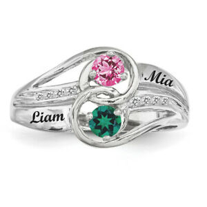 Twirling-Ring-Sterling-Silver-Couples-Birthstones-Ring-Promise-ring-collection