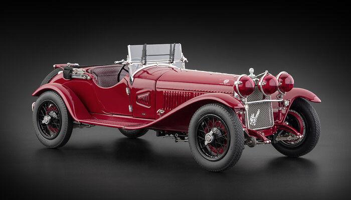 1930 Alfa Romeo 6C 1750 Gs Modèle Moulé par Cmc en 1:18 Echelle { Cmc 138 }   Structurels élégantes    Grand Assortiment