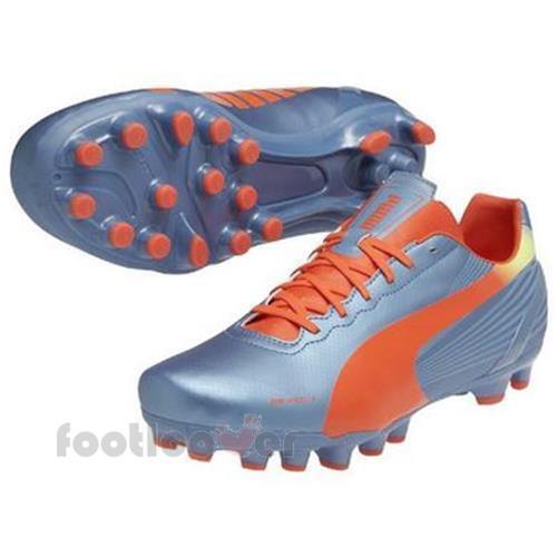 Para Hombre Puma Evospeed 4.2 4.2 4.2 AG 102870 03 Evo Velocidad cielo Naranja Zapatos De Fútbol 369ec2