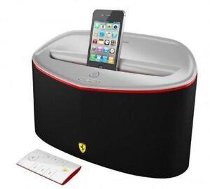 Ferrari Scuderia FS1 Bluetooth & AirPlay Speaker + 30-Pin iPhone Dock 2LFS001