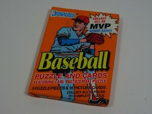 1990-Donruss-MLB-Baseball-Puzzle-amp-Cards-Pack-of-16-Cards-amp-3-Puzzle-Pieces
