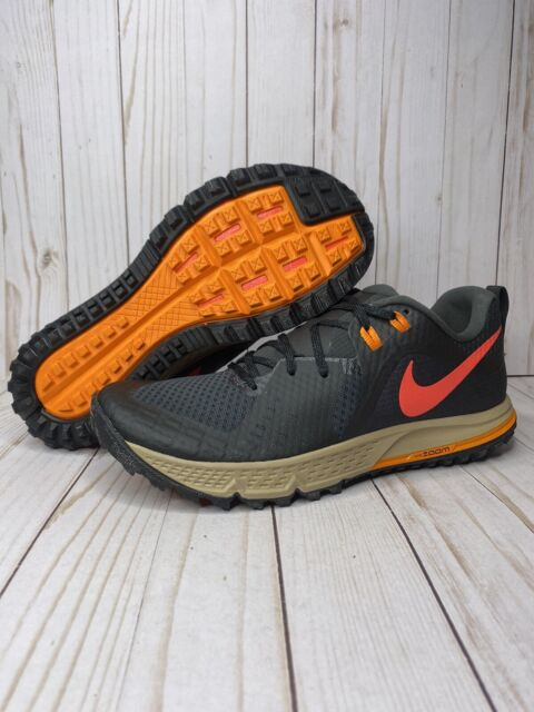 Nike Air Zoom Wildhorse 5 Mens Size 10 Trail Hiking Shoes AQ2222-002 Multicolor