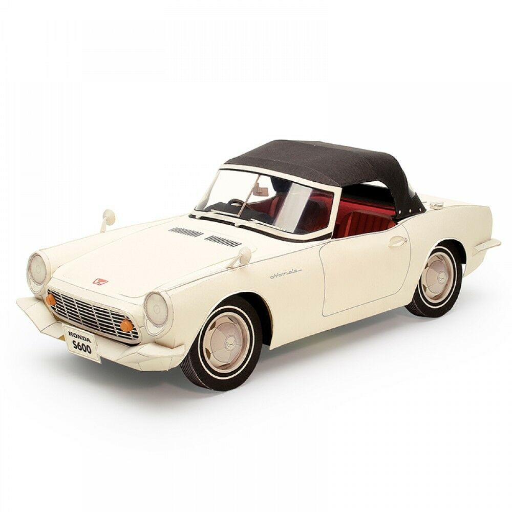 NEW HONDA Paper craft Sport car S600 1 12 from JAPAN F S