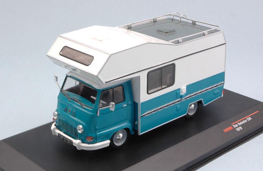Star Autostar 350 1979 Blau     Weiß Campere Van 1 43 Model CAC006 IXO MODEL    In hohem Grade geschätzt und weit vertrautes herein und heraus  ec7054