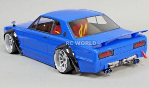 1//10 RC Car QUAD EXHAUST Muffler Scale Accessories Drift Racing Body Shell