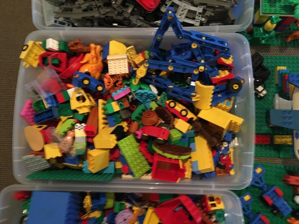 Lego Duplo, Tog, dyr
