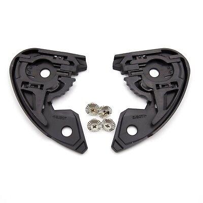 HJC HJ-20 Shield Visor Side Replacement Gear Plate Set for RPHA 10 RPHA 10 Pro