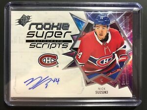 2019-20-Nick-Suzuki-SPX-Rookie-Super-Scripts-Auto