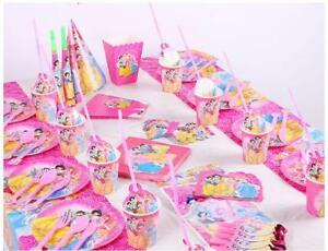 03b22140cf6 Image is loading Disney-Princess-Birthday-Party-Supplies -Tablecloth-banners-cups-