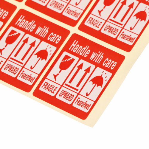 240X Fragile Sticker Up And Handle With Care Keep Dry Shipping Label 3.5*4.8R.ch