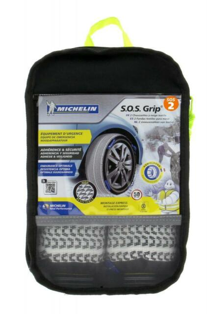 Chaines Neige Textiles MICHELIN SOS Grip N°02 / 215/40x17 215/35x18
