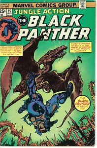 Jungle Action #15, Black Panther #2 (1988); Low,Mid Grade Marvel Books