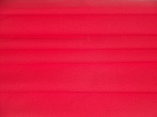 POLY//COTTON-RED DRESS FABRIC-FREE P/&P