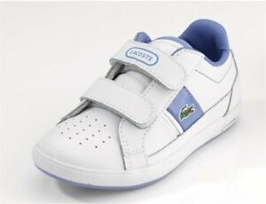GIRLS LACOSTE EUROPA STRAP TRAINERS in