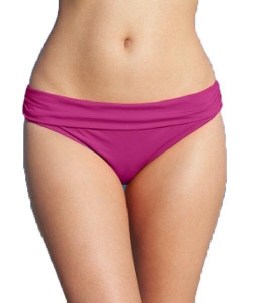 Kenneth Cole Damen Hipster Pink Bikini Unten Größe M
