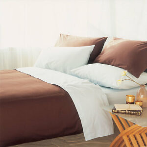 200 Thread Count Fitted Sheet 28cm in Polycotton King Bed Size in Chocolate - BRADFORD, West Yorkshire, United Kingdom - 200 Thread Count Fitted Sheet 28cm in Polycotton King Bed Size in Chocolate - BRADFORD, West Yorkshire, United Kingdom