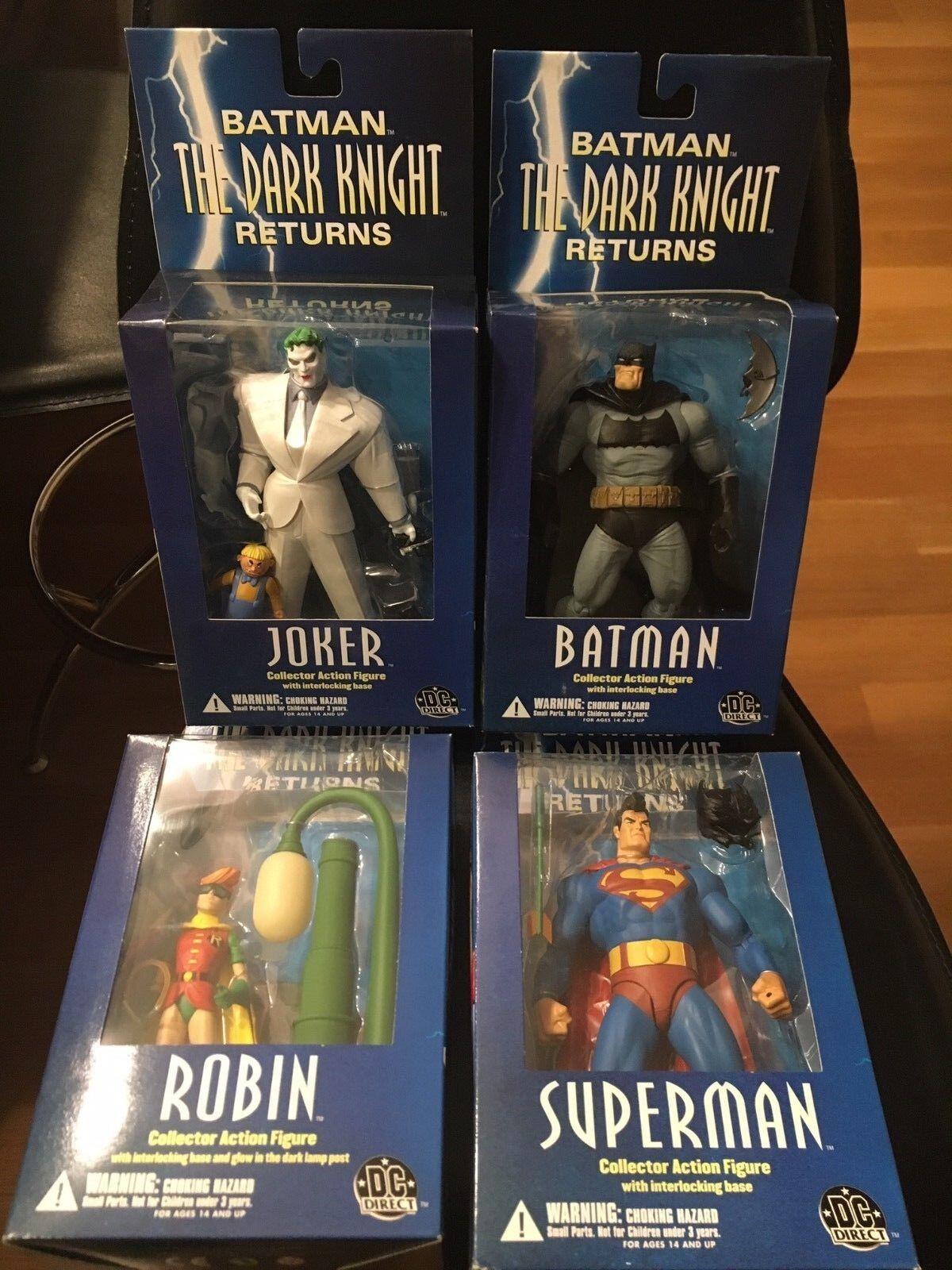 - direkte dark knight gibt vollen satz von vier action - figuren moc