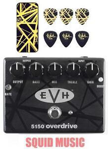 0b83c68457f MXR EVH 5150 Overdrive Pedal Eddie Van Halen EVH Black   Yellow ...