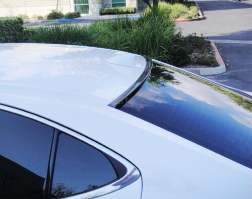 Fit 2005-2010 Volkswagen Passat B6 Carbon Look Rear Window Roof Spoiler