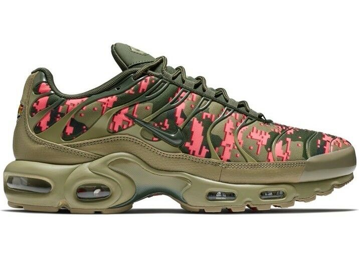 bb8c7e46c5 AIR MAX PLUS C NEUTRAL OLIVE SEQUOIA AJ4858-200 MEN'S 100% AUTHENTIC SHOES  NIKE nccbdx4843-Athletic Shoes