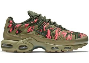 wholesale dealer fd151 f193f Details about NIKE AIR MAX PLUS C NEUTRAL OLIVE SEQUOIA AJ4858-200 MEN'S  SHOES 100% AUTHENTIC
