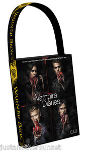 SDCC-Swag-Bag-Large-Promo-Tote-Vampire-Diaries-Damon-Stephen-Elena-Klaus-Tv-WB