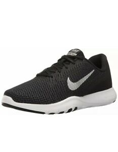 Details About Nike Flex Trainer 7 898781 001 Black Silver Running Shoes Women S Size 8 5 Wide