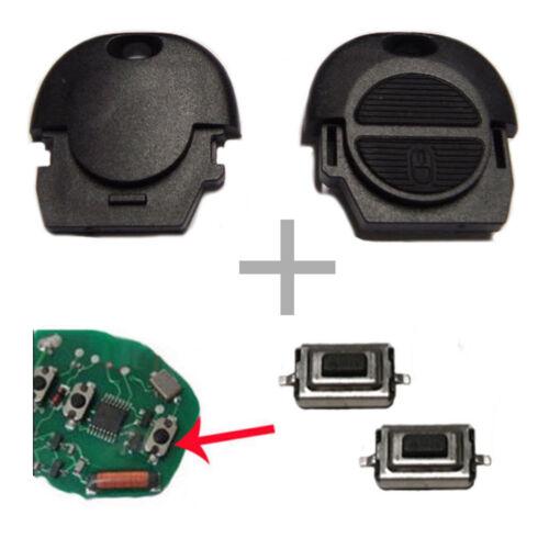 Für Nissan Schlüssel Autoschlüssel Funkschlüssel Gehäuse 2x Taster Mikrotaster