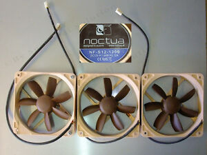 Lot-de-03-Ventilateurs-Noctua-NF-S12-1200-Ideal-montage-Radiateur-Watercooling