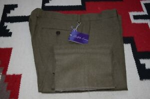 Ralph Lauren Purple Label Made In Italy 100 Wool Flannel