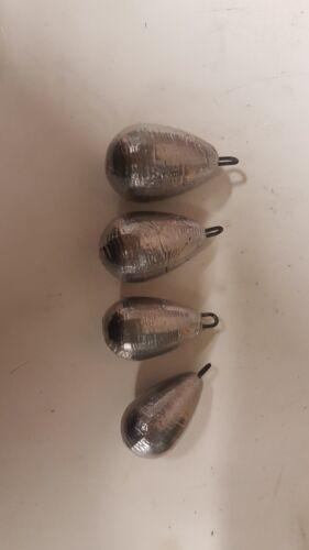 Dumpy Pear Lead Mould 4in1 2oz..2.5oz..3oz..3.5oz
