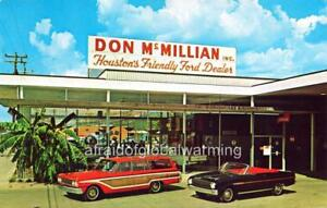 Photo Houston TX Don McMillan Ford Auto Dealership EBay - Ford dealership houston