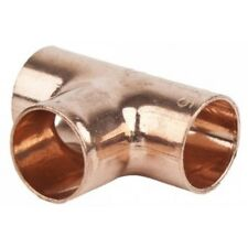 End Feed Copper Fittings  Equal Tee For Pipe Size 10//15//22//35