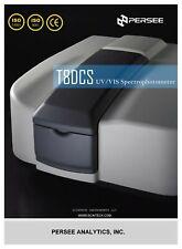 T8dcs Double Beam Uv Vis Spectrophotometer