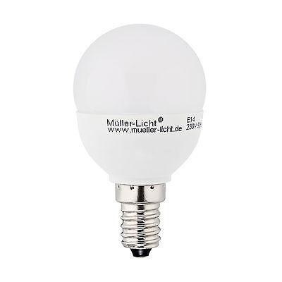 Sonderposten Müller-Licht LED Tropfen DIMM E14 5,5W 40W Licht 470lm Tropfenlampe