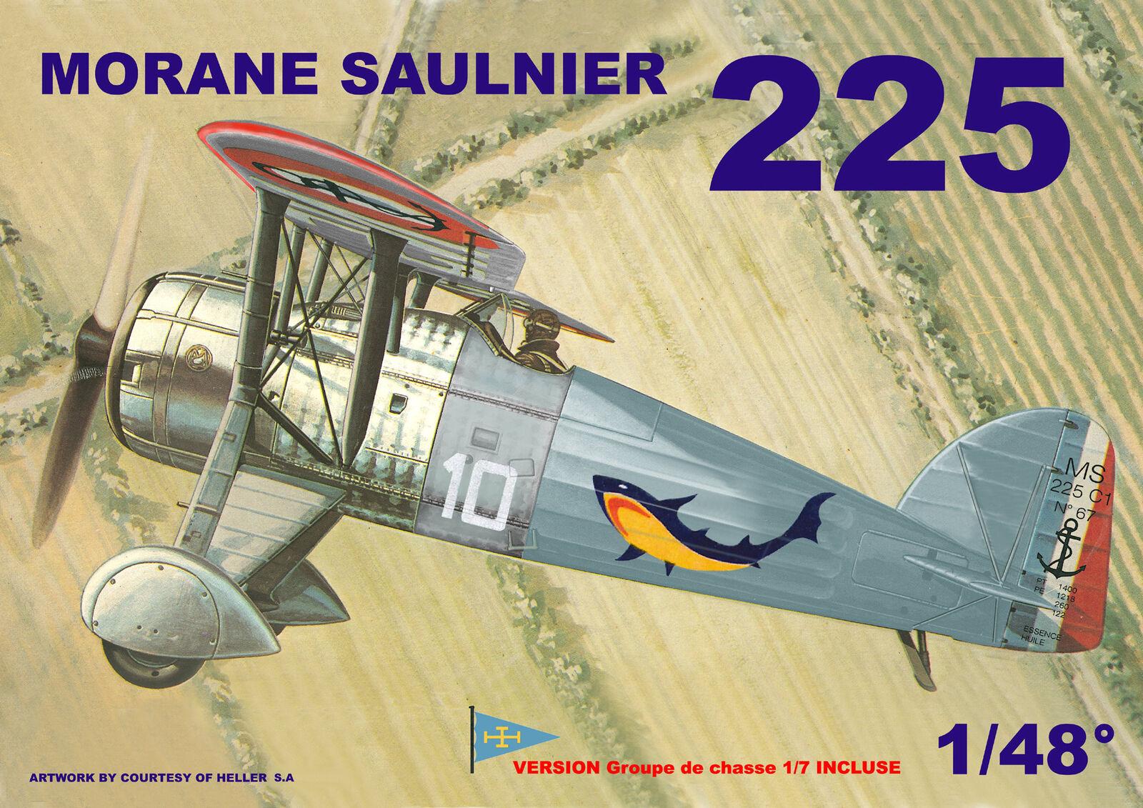 Mach 2 1 48 Morane MS.225 LS03