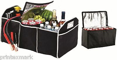 Extra Large Trunk Organizer Portable Removable Thermal Cooler Car-Truck-SUV-Van