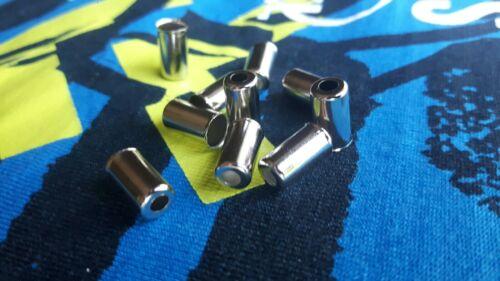 10 PROMAX Endkappen für Fahrrad Brems /& Schaltzugaußenhüllen Bowdenzug 5mm.