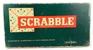 1955-Spears-Scrabble-Game-vintage-board-game-Free-Postage