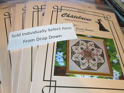 Bronte Sampler Cross Stitch Chart-Moira Blackburn-Your Choice