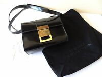 Us$795 Pre Tax Authentic Versace Black Patent Cross Body Bag