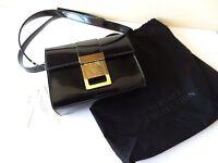 Us$795 Pre Tax Authentic Versace Black Patent Cross Body Bag