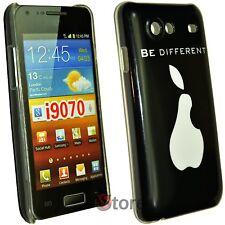 Cover Custodia Per Samsung Galaxy Advance i9070 Be Different Pera + Pellicola
