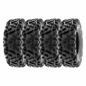 SunF 30x10R14  30x10x14 All Terrain ATV UTV Tires 8 Ply  POWER I A033 [Set of 4]
