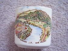 Crown Devon England porcelain small vase
