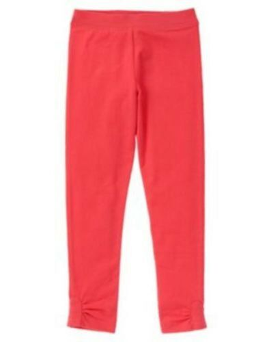 Gymboree NWT Girls Play By Heart Pink Red Leggings Size 4 5 6 7 8 10 /& 12